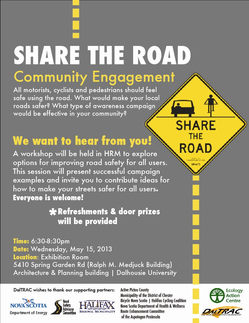 Share the Road Community Engagement Session - May 15