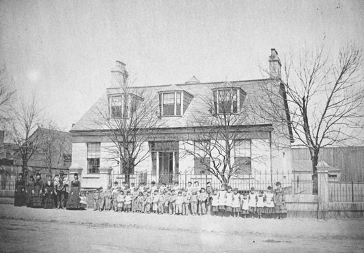 Protestant Orphan's Home, May 1874 (NSA, no. 1987-265, no. 5)