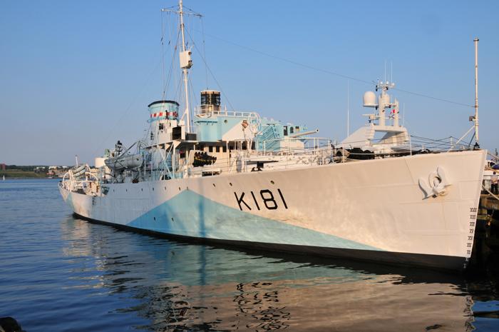 HMCS Sackville at Sackville Wharf