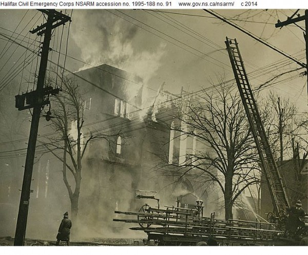Fire at Labour Temple, 2 January 1945