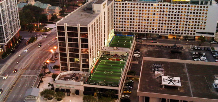 rooftop soccer Miami