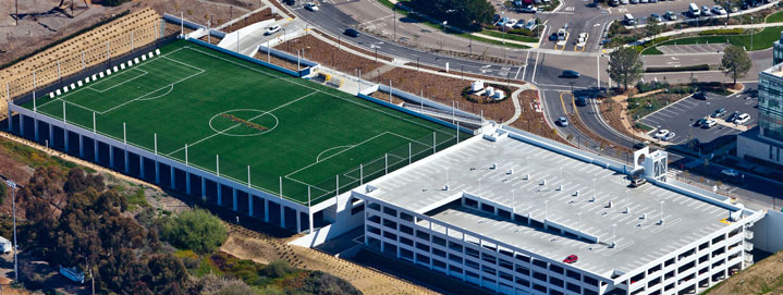 rooftop soccer San Diego