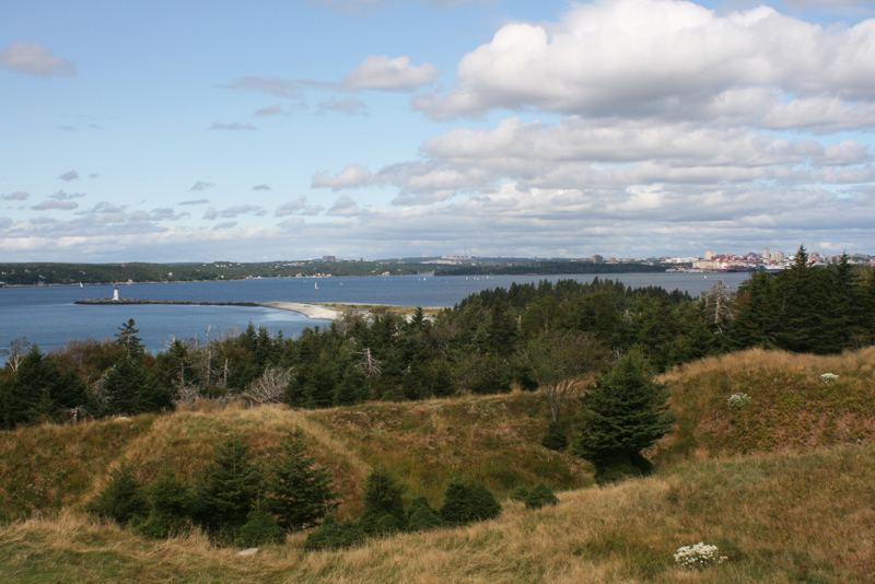 View from Fort McNab