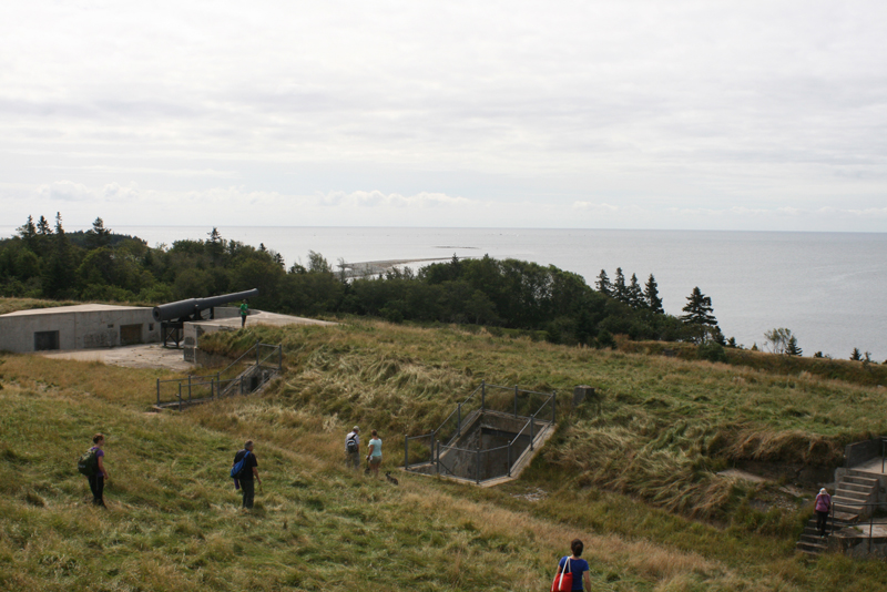 View from Fort McNab of the harbour entrance
