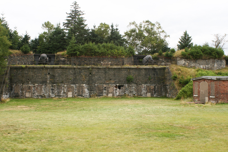 Fort Ives National Historic Site. Almost feels built for a stage.