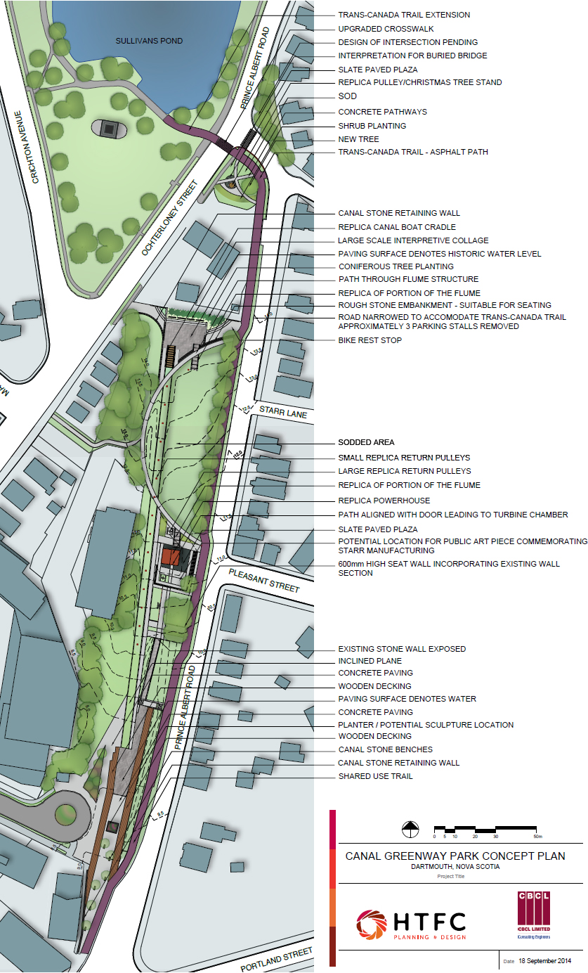 2014 Canal Greenway Plan by HTFC Planning & Design