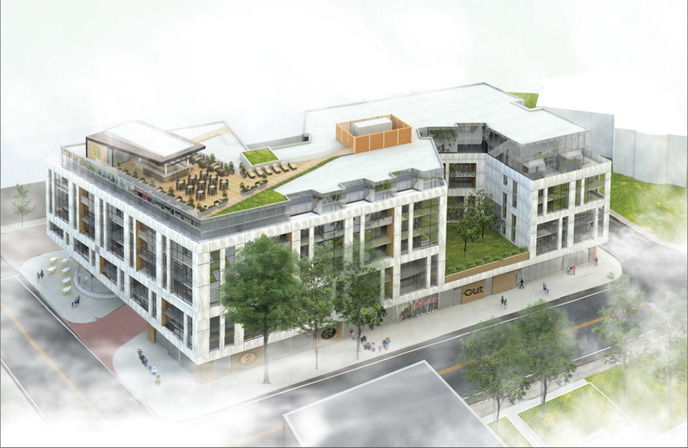 The recent proposal to level a block of Halifax's Spring Garden Road shows that projects like Queen's Square can still happen.