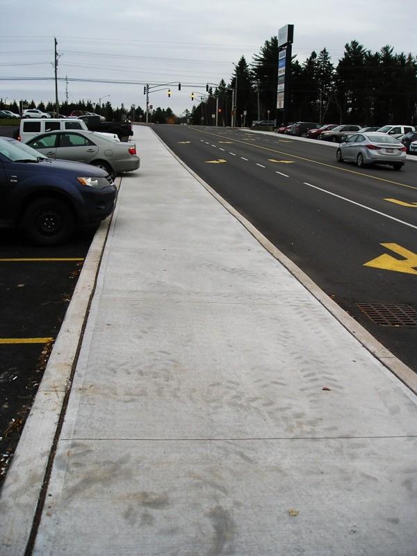 Inadequate pedestrian access