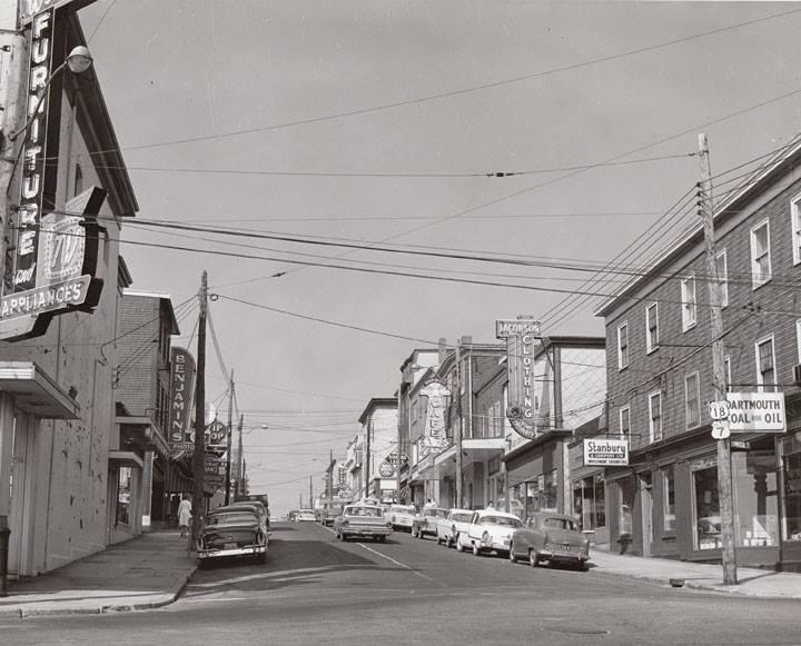 Portland Street in 1960