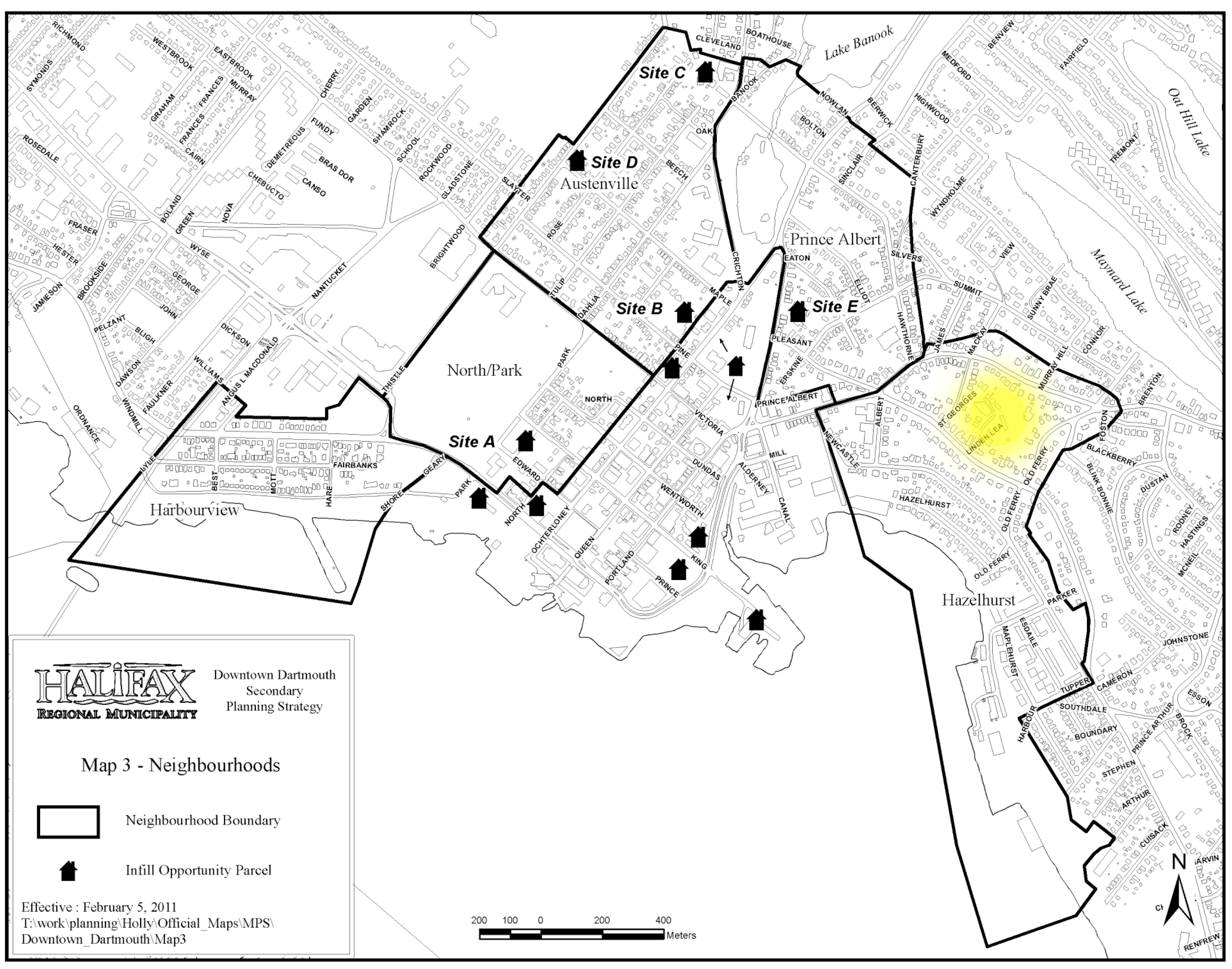 Opportunity Sites in Downtown Dartmouth