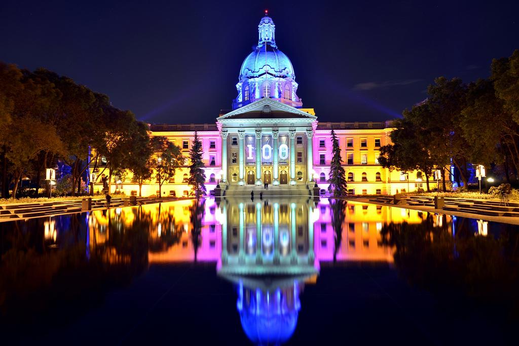 Alberta Legislature 100 Anniversary