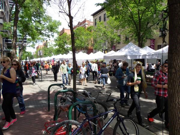 104 Street Farmers Market. Photograph by: Mike Friel