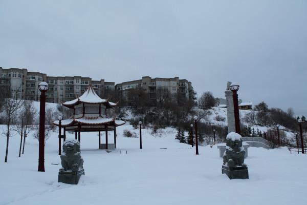 Edmonton Chinese Garden, Louise McKinney Park