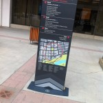 A wayfinding prototype created and led by a group of citizens. Photo courtesy of the Edmonton Wayfinding Project.