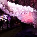 Illuminite festival light installations in 2013.