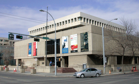 The Edmonton Art Gallery before its reconstruction as the Art Gallery of Alberta