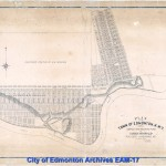 circa early 1900's - subdivision south of Jasper Ave first of Hudson's Bay development