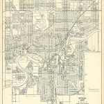 1954 - Most of the original 1912 subdivision has vanished