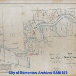 1882 Plan of Settlement - original river lots and parts of Dominion Land Survey at fringe