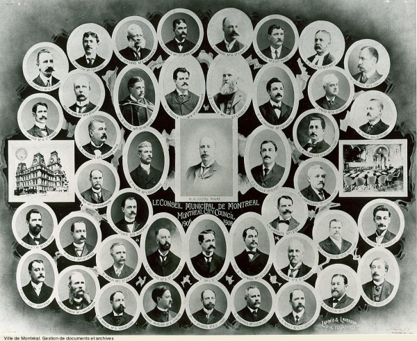23 of the 40 Montreal City Council aldermen were found guilty in the 1909 Royal Commission Source: Ville de Montréal Documents et Archives VM6,S10,D015.22-5