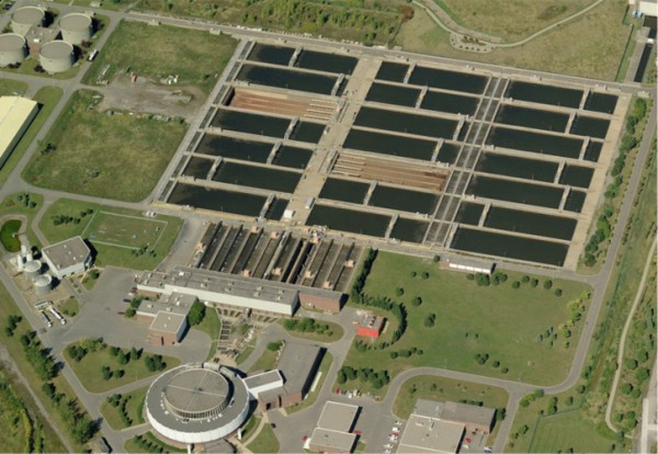 montreal sewage treatment centre