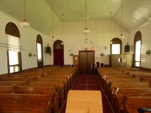 Église de Dieu Centrale interior, Montreal Quebec