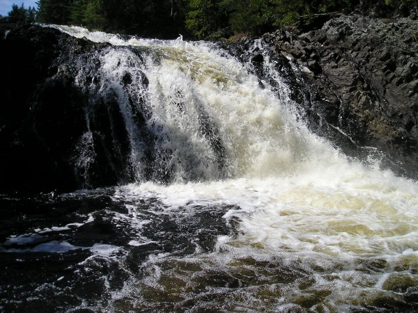 The South Branch Oromocto Falls, on the Kirkpatrick Family Trail