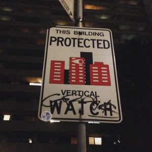Neighbourhood Watch Sign in Toronto's Gay Village. From Jen Roberton /imgur