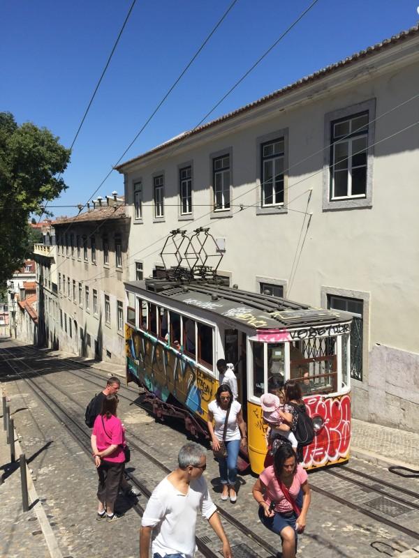 Elevador de Gloria, Lisbon, Portugal