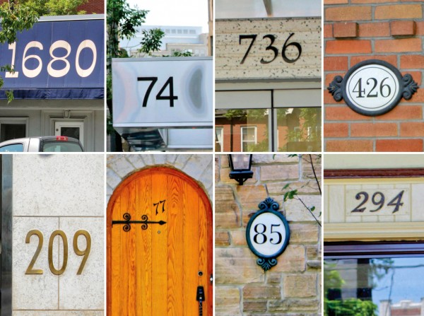 ever wonder how a house gets an address number spacing national