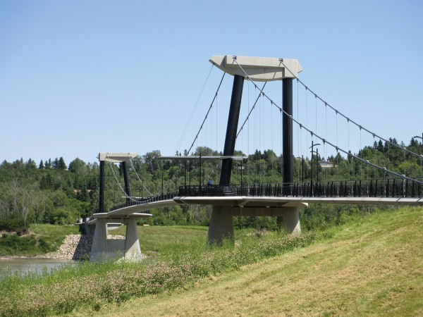 bridge-Fort Edmonton Footbridge