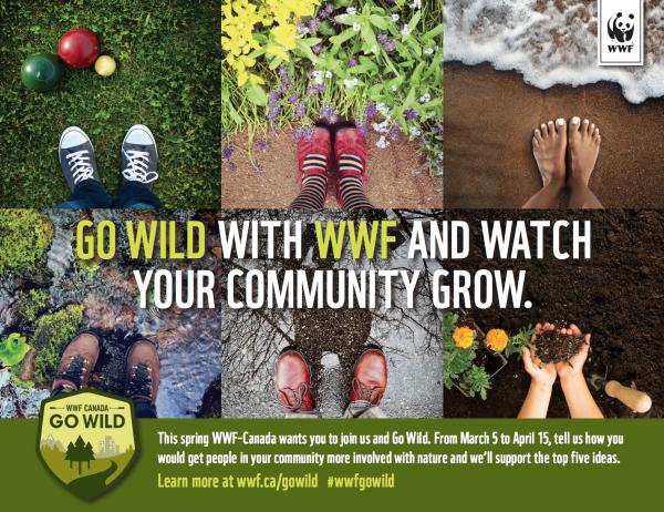 go wild with wwf-canada