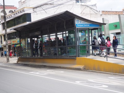 No-Frill station for Loja, Ecuador Bus Rapid Transit System