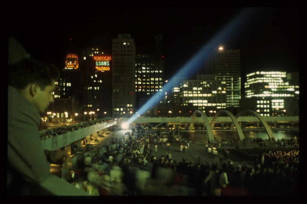 Opening ceremony, 1966.