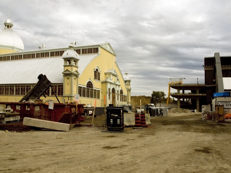 lansdowne park redevelopment construction photo essay by