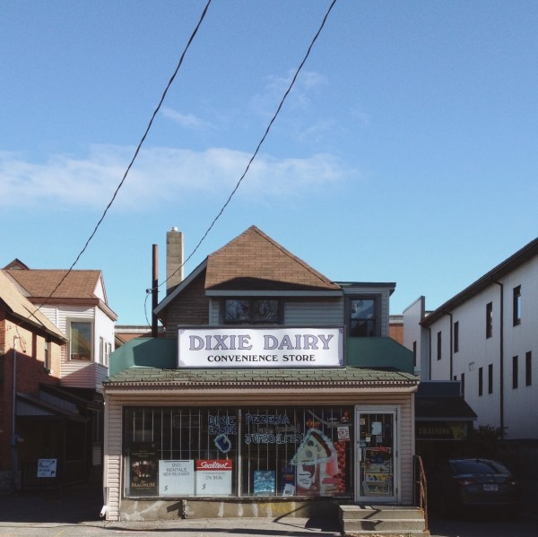 Dixie Dairy. Whistlin' for nearly fifty years (Image: November 2014)