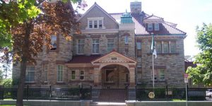 Embassy of Algeria, Paterson-Fleck House