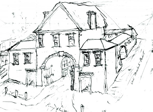 otto-st lawrence hall drawing