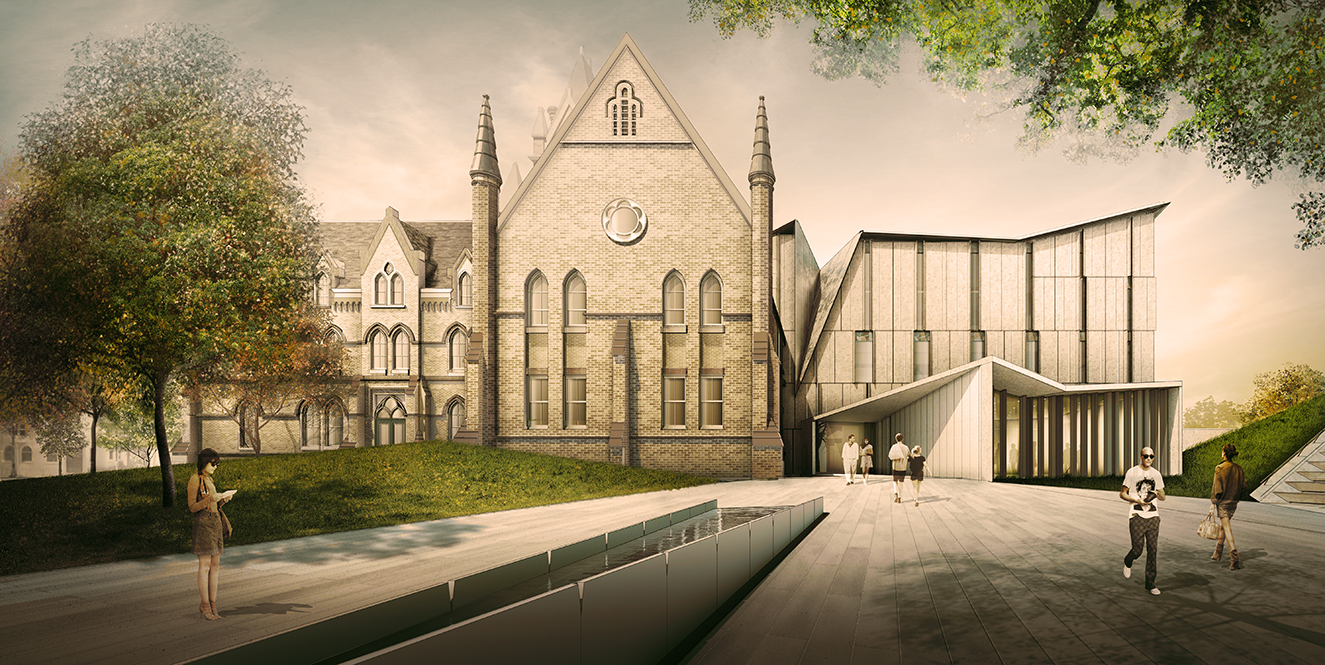 u of t reveals new design for one spadina crescent