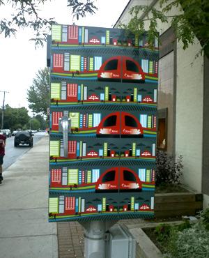 Wrap for traffic signal box