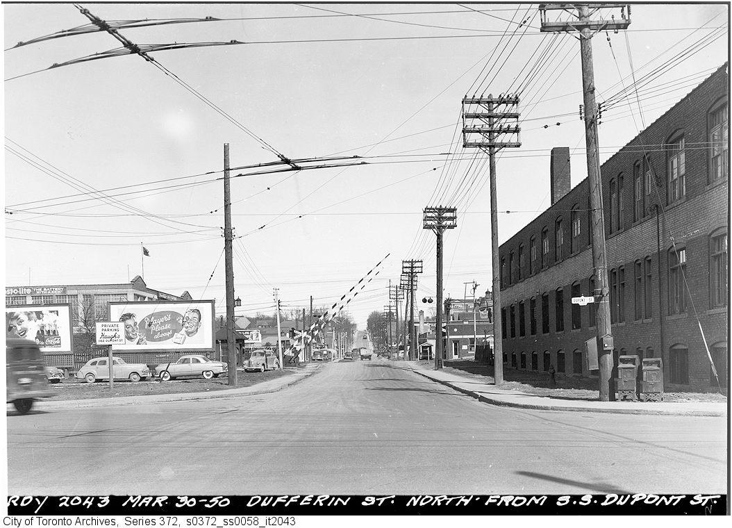 A Brief History Of Dufferin Street Spacing Toronto