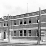 Police Station No. 6, Queen St. and Cowan Ave., 1932 photo courtesy Toronto Public Library
