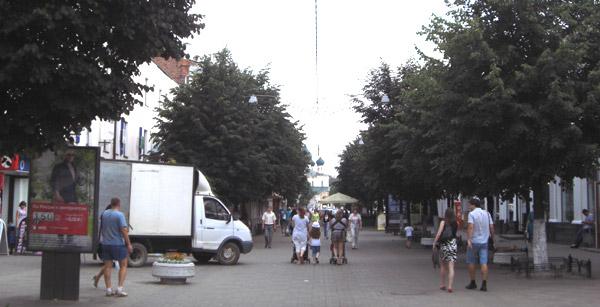 Yaroslavl pedestrian zone