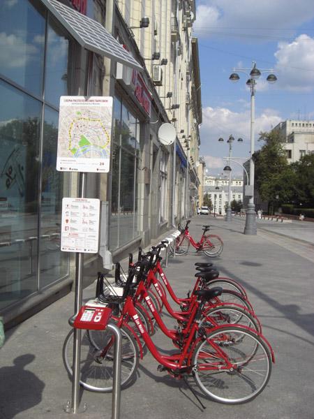 Moscow bike share
