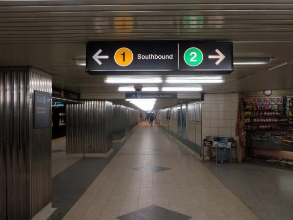 Bloor-Yonge sign