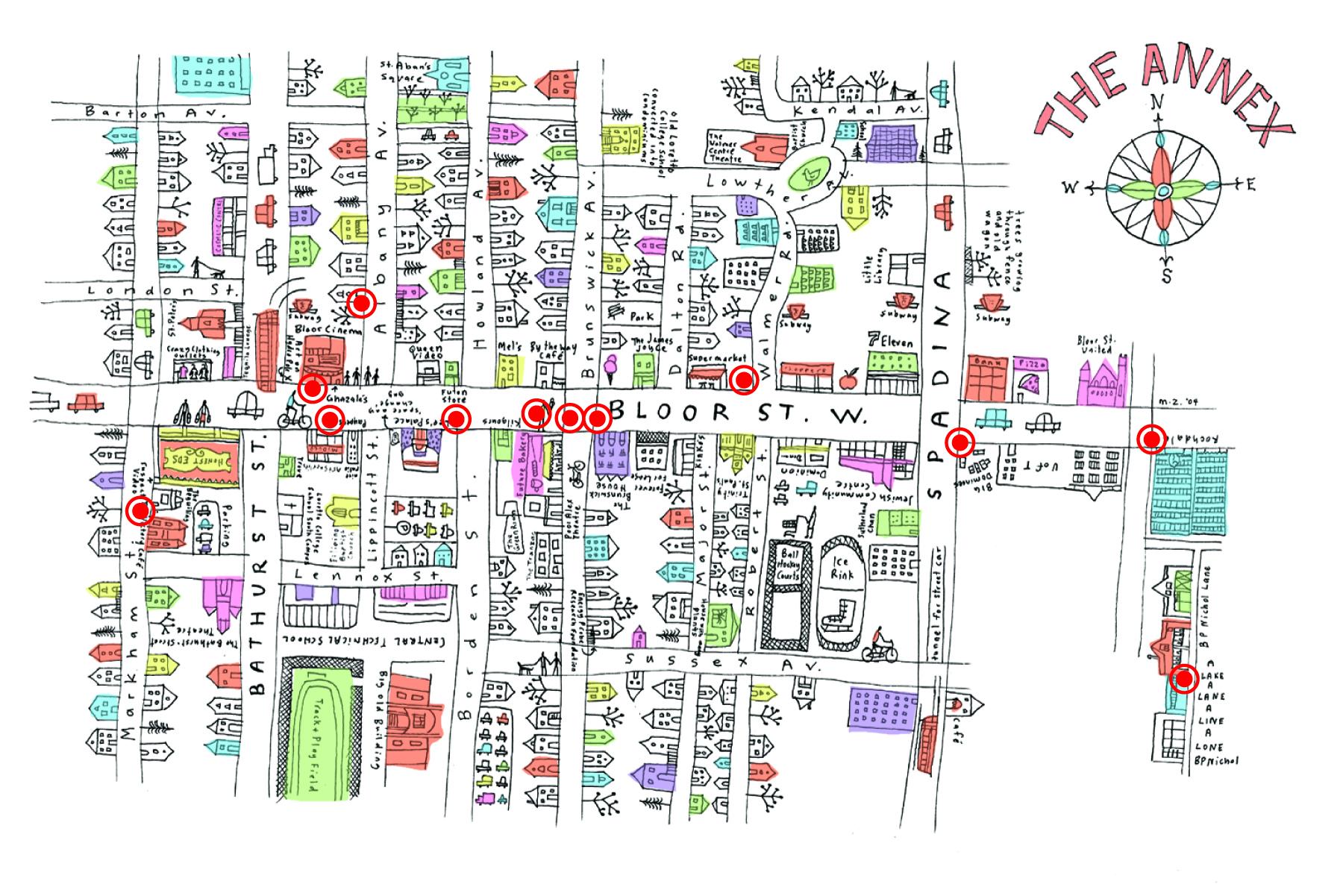ANNEX  sc 1 st  Spacing Magazine & Door Open Weekend \u2014 ghosts [murmur] maps \u0026 Redesigning Toronto ...