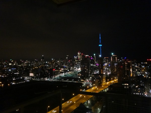 5 Night view from apt3