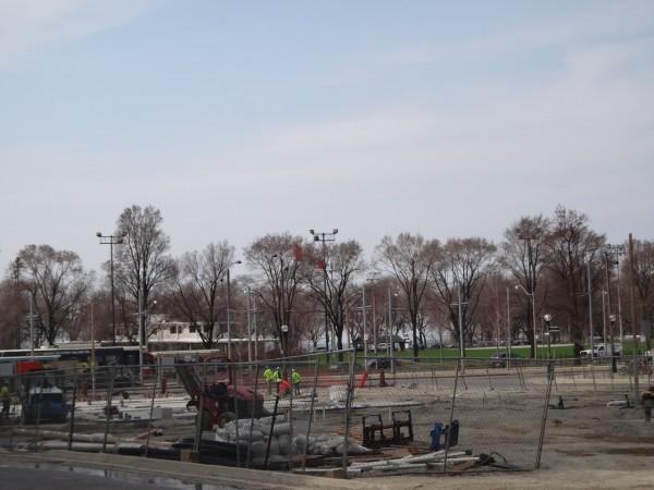 7 Park under construction