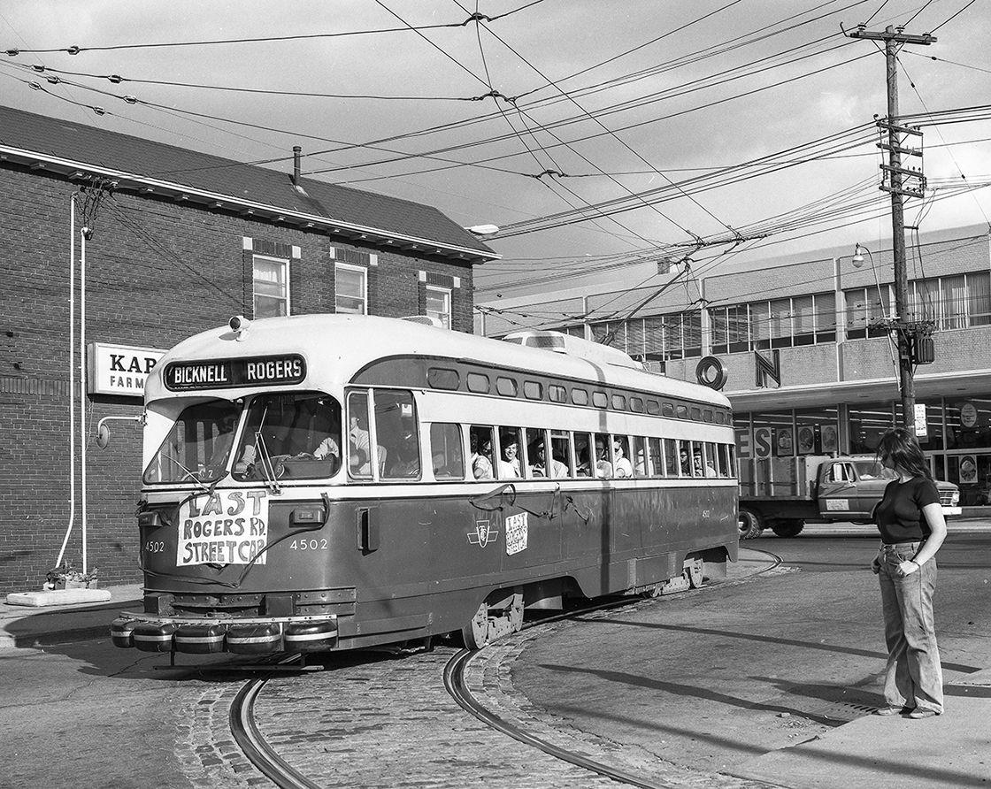 Last Rogers Road streetcar