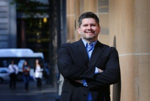 NEWS: Brent Toderian . Chief City Planner for Vancouver pictured in Sydney.
